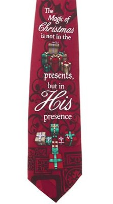 His Presence Silk Tie  -