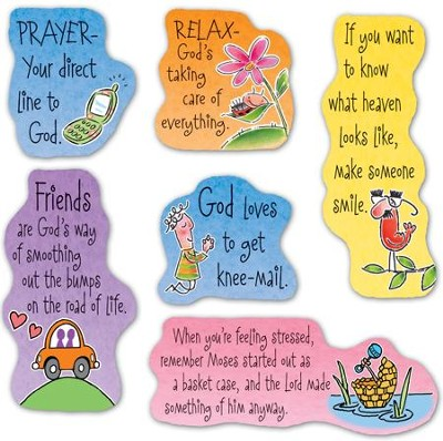 New Time To Laugh Magnets, Set of 6  -