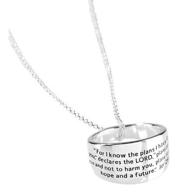 For I Know the Plans, Ring Necklace  -