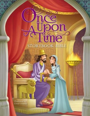 Once Upon a Time Storybook Bible - eBook  -     Illustrated By: Omar Aranda
