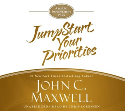 Jumpstart Your Priorities: A 90-Day Improvement Plan, Unabridged CD  -     Narrated By: Chris Sorensen     By: John C. Maxwell