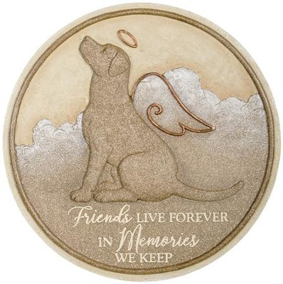 Dog Memorial Stepping Stone  -