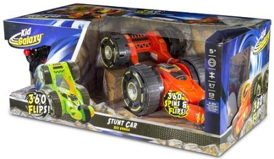 Radio Control Stunt Car, Red  -