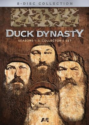 Duck Dynasty Seasons 1-3 , DVD Gift Set   -