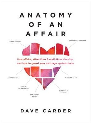 Anatomy of an Affair: How Affairs, Attractions, and Addictions Develop, and How to Guard Your Marriage Against Them - eBook  -     By: Dave M. Carder