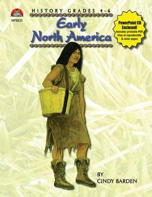 Early North America Book and PowerPoint CD  -