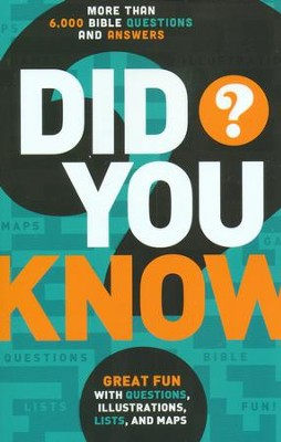 Did you Know? More Than 6,000 Bible Questions and Answers  -