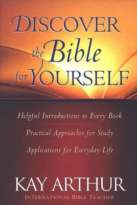 Discover the Bible for Yourself  - Slightly Imperfect  -