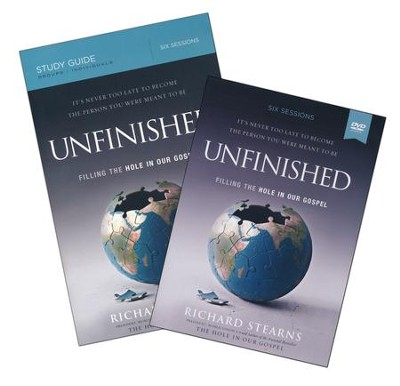 Unfinished, DVD-Based Study, Repack  -     By: Richard Stearns