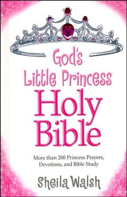 NKJV God's Little Princess Bible  -     By: Sheila Walsh