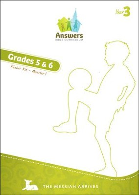 Answers Bible Curriculum Year 3 Quarter 1 Grades 5-6 Teacher Guide with DVD-ROM  -