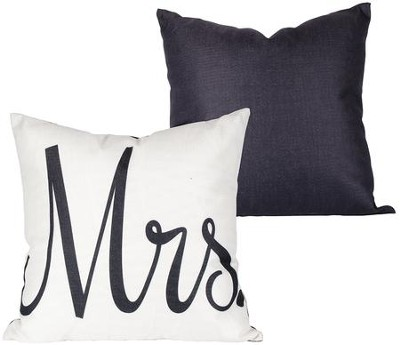 Mrs. Decorative Pillow  -