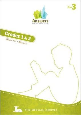Answers Bible Curriculum Year 3 Quarter 1 Grades 1-2 Teacher Kit  -