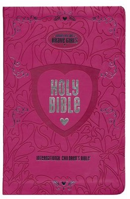 Tommy Nelson's Brave Girls Devotional Bible--soft leather-look, pink  -