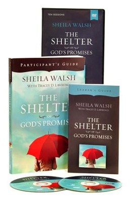 Shelter of God's Promises, DVD Based Study, Repack  -     By: Sheila Walsh