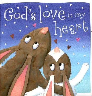God's Love in my Heart Board Book  -