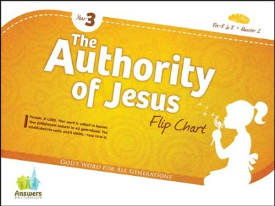 Answers Bible Curriculum Year 3 Quarter 2 Preschool Flip Chart  -