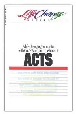 Acts, LifeChange Bible Study   -