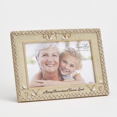 Bereavement Photo Frame Always Remembered Forever Loved Kim