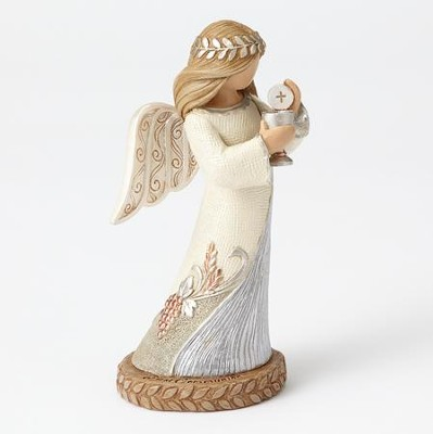 First Communion Angel Figurine  -     By: Kim Lawrence