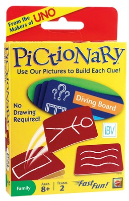 Pictionary Card Game  -