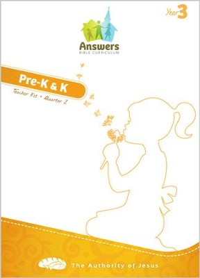 Answers Bible Curriculum Year 3 Quarter 2 Preschool Teacher Kit  -