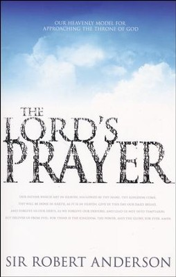 The Lords Prayer  -     By: Robert Anderson