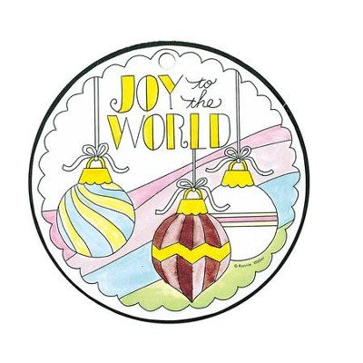 Joy To the World, Color Ornament  -