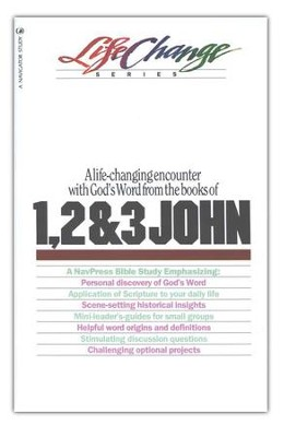 1, 2 & 3 John, LifeChange Bible Study   -     By: Karen Hinckley