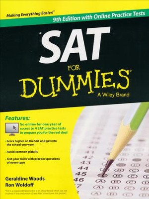 SAT For Dummies, with Online Practice Tests  -     By: Geraldine Woods