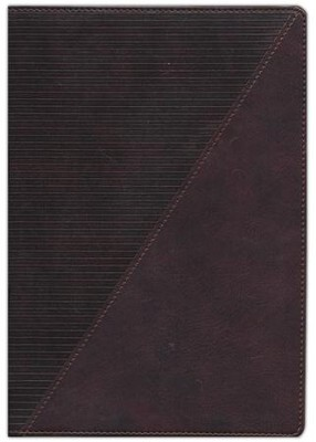 NKJV Study Bible, Full-Color Leathersoft Rich Mahogany Indexed  -