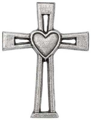 Heart Wall Cross  -