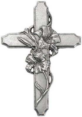 Lily Wall Cross  -