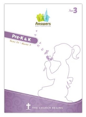Answers Bible Curriculum Year 3 Quarter 3 Preschool Teacher Kit  -