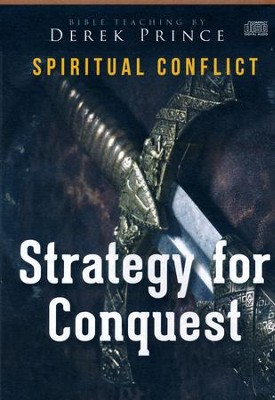 Strategy for Conquest - on 4 CDs  -     By: Derek Prince