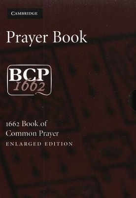Book of Common Prayer, Enlarged Edition, Black French Morocco Leather  -