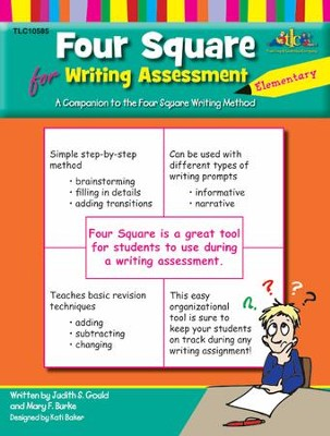 Four Square Elementary Assessment  -     By: Judy Gould, Mary F. Burke