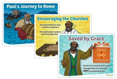 Answers Bible Curriculum Year 3 Quarter 4 Grades 1-6 Lesson Theme Posters  -