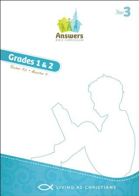 Answers Bible Curriculum Year 3 Quarter 4 Grades 1-2 Teacher Kit  -