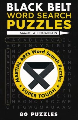 Black Belt Word Search Puzzles  -     By: Samuel Donaldson