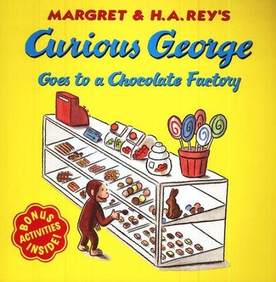 Curious George Goes to a Chocolate Factory Softcover  -     By: H.A. Rey