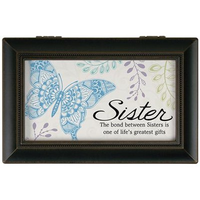 Sister, The Bond Between Sisters Music Box  -