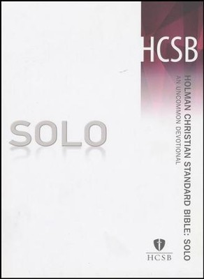 HCSB SOLO: An Uncommon Devotional  -