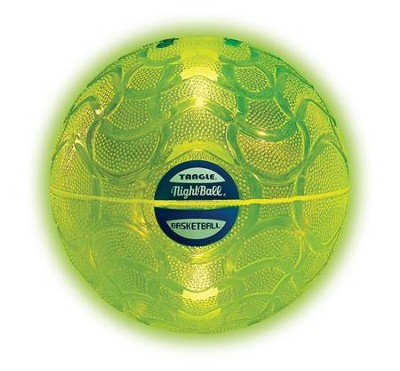 NightBall Basketball, Green  -
