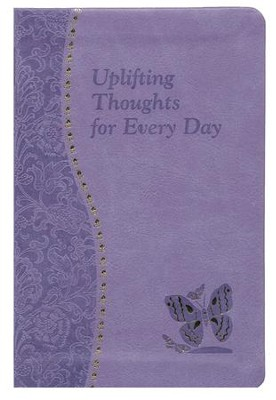 Uplifting Thoughts for Every Day, Imitation Leather, Purple   -     By: Catoir John