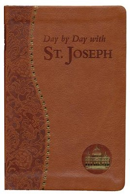 Day by Day with Saint Joseph, Imitation Leather, Brown  -     By: Joseph Champlin, Ken Lasch