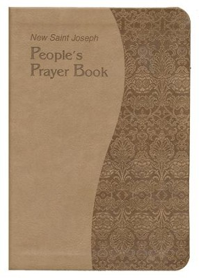 New Saint Joseph's People's Prayer Book, Imitation Leather, Tan  -     Edited By: Francis Evans