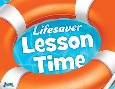 Ocean Commotion VBS Rotation Sign: Lifesaver Lesson Time   -
