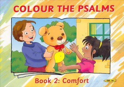Colour the Psalms Book 2: Comfort  -     By: Carine Mackenzie