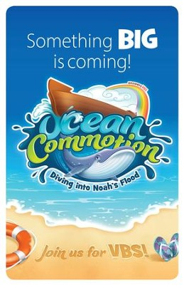 Ocean Commotion VBS Bulletin Inserts (Pack of 10)  -